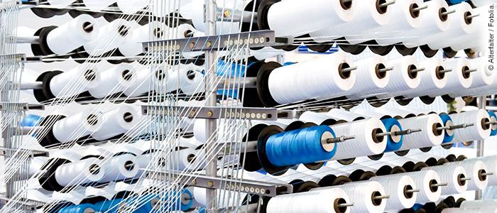 Unsichtbare Markierungen für Garne sollen Textilien vor Fälschungen schützen