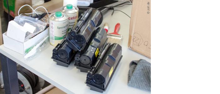 Zoll konfisziert gefälschte Toner imWertvon 10 Millionen Euro