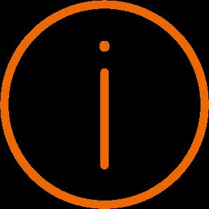 Icon Info Orange