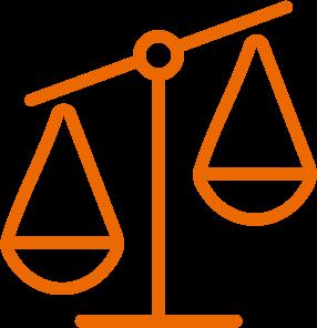 Icon Waage Orange