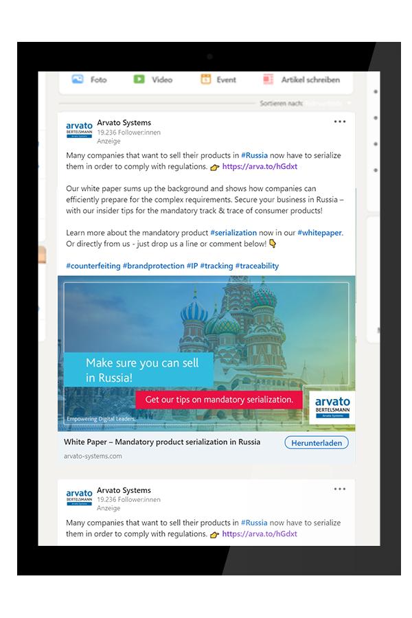 Arvato-Systems Auf Linkedin