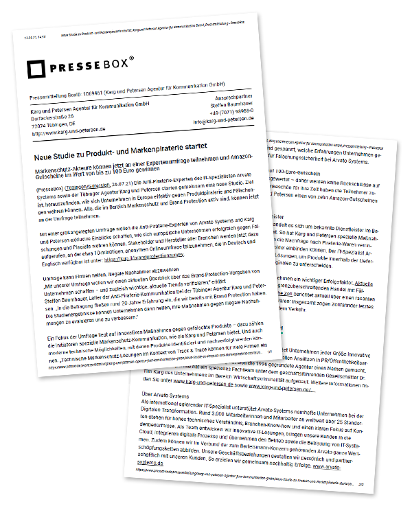 Pressemitteilung Für Arvato-Systems