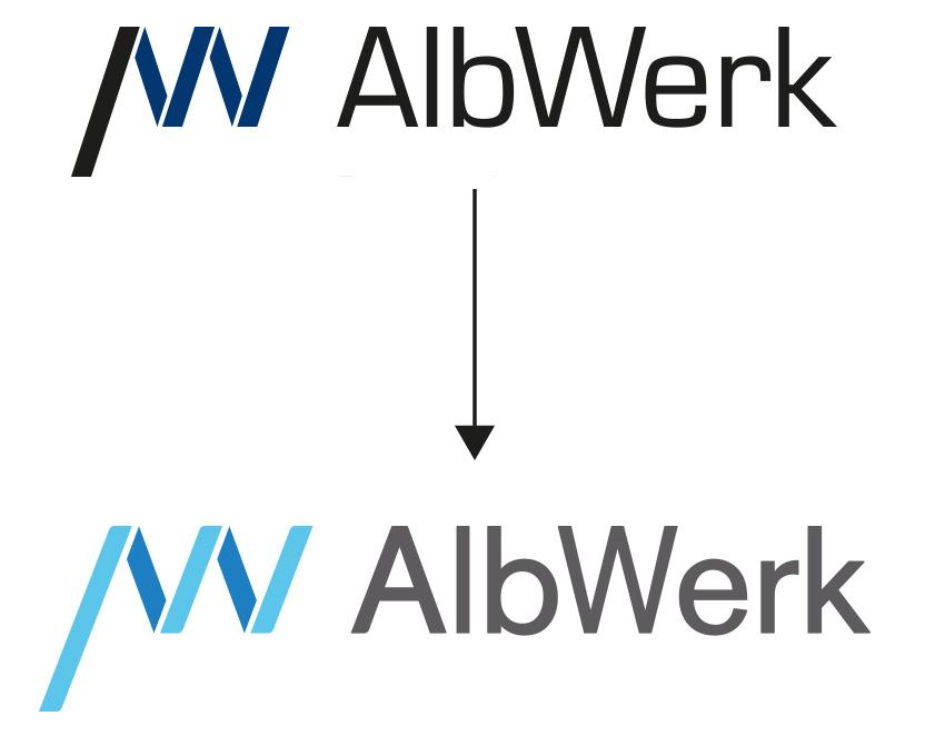 Albwerk - Logoentwicklung