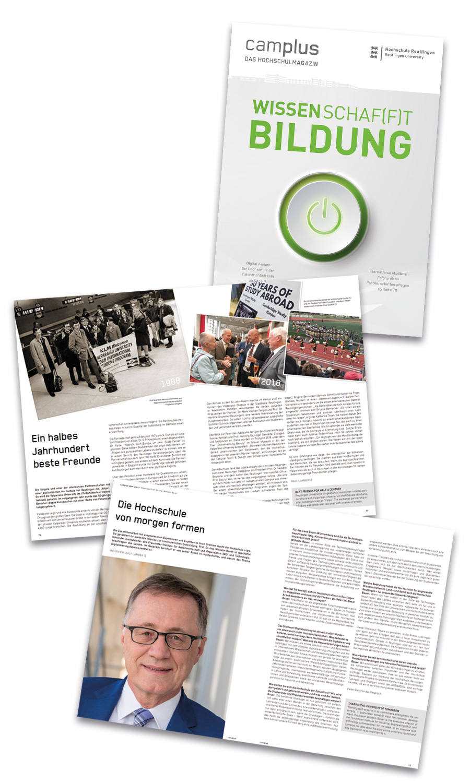Magazin der Hochschule Reutlingen