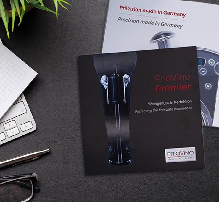 PrioVino - Produktlaunch