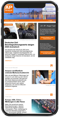 Handyansicht Des Anti-Piracy-Analyst-Newsletters
