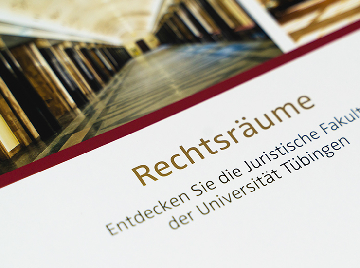 Uni Tübingen - Imagebroschüre
